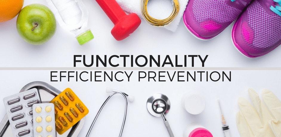 Funzionalità efficienza prevenzione