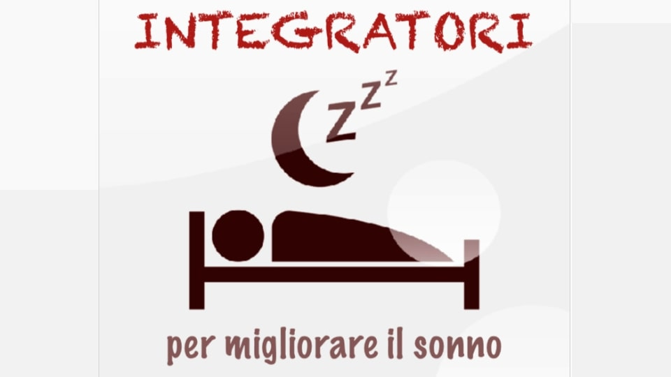 Integratori per migliorare il sonno